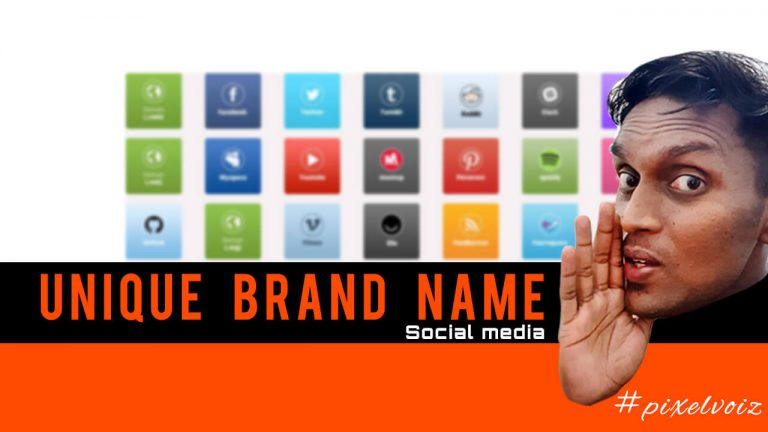 How to find unique brand name for website