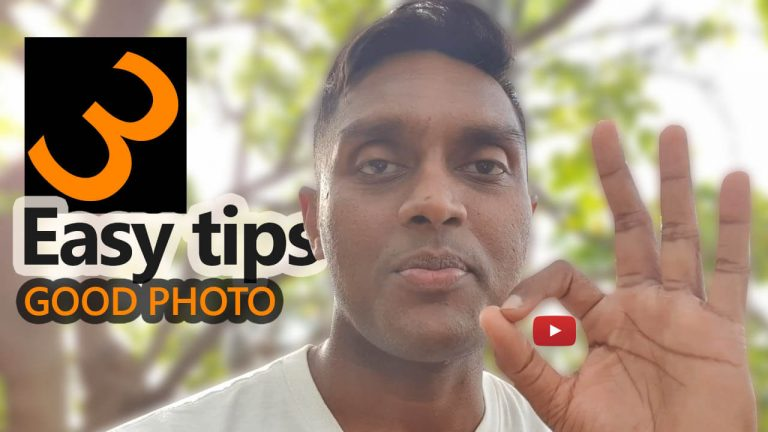How to take a Beautiful Photograph – 3 easy tips – Vlog 01