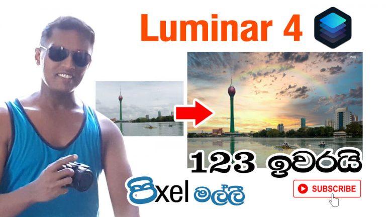 Luminar 4 Easy Photo Manipulation Tutorial