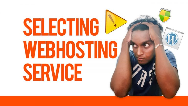 How to choose a good web hosting service