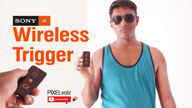 Wireless Remote for Sony a6000 Camera