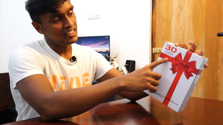 3D Lamp Unboxing – A Photography Ornament