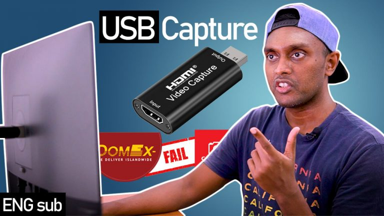 How to record camera screen to Computer using HDMI to USB capture card