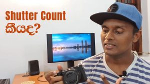 How to Check Shutter Count on Sony Mirrorless Camera