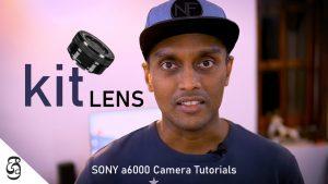 Sony a6000 kit lens E16-50mm PZ සිංහළෙන්