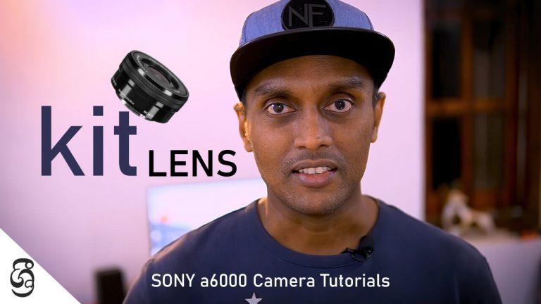 Sony a6000 kit lens E16-50mm PZ