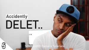 Sony a6000 how to prevent accidently deleting files සිංහළෙන්
