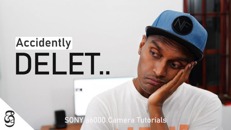 Sony a6000 how to prevent accidently deleting files
