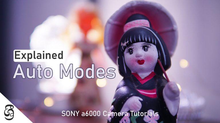 Sony a6000 Auto Modes Explained
