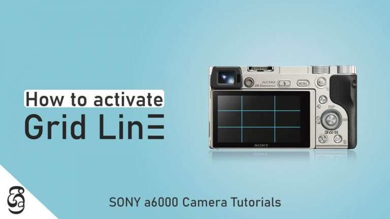 How to Enable Rule of Thirds Grid in Sony a6000 camera සිංහළෙන්