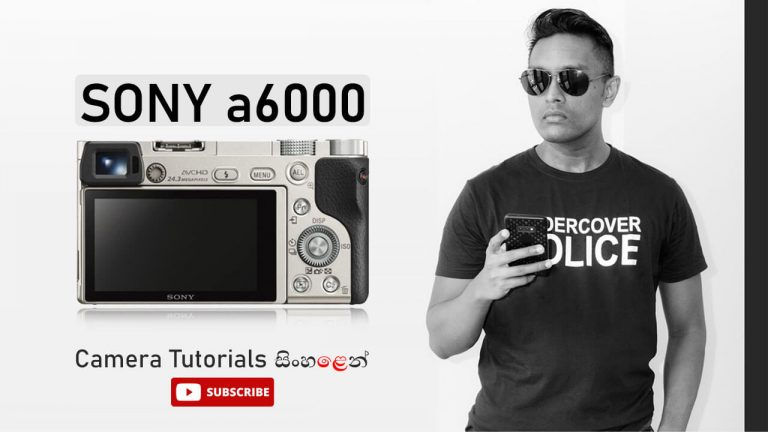 Sony a6000 mirrorless camera guide