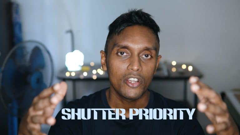 How to shoot Shutter Priority mode | Sony a6000