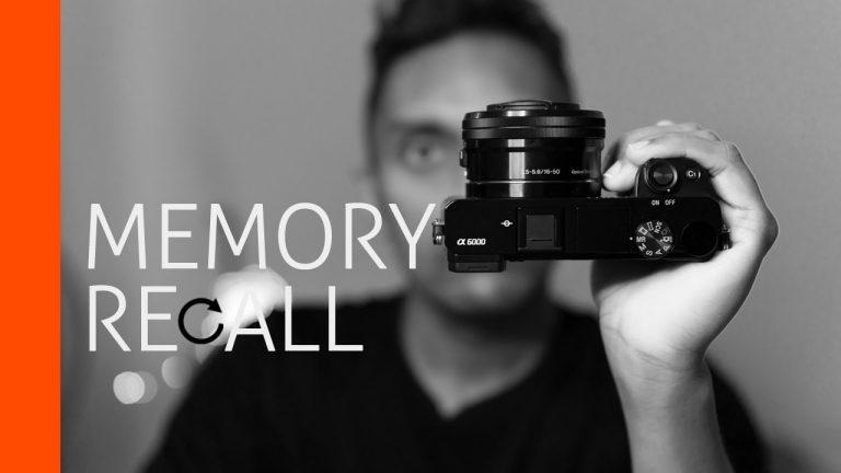 Camera Memory Recall Function