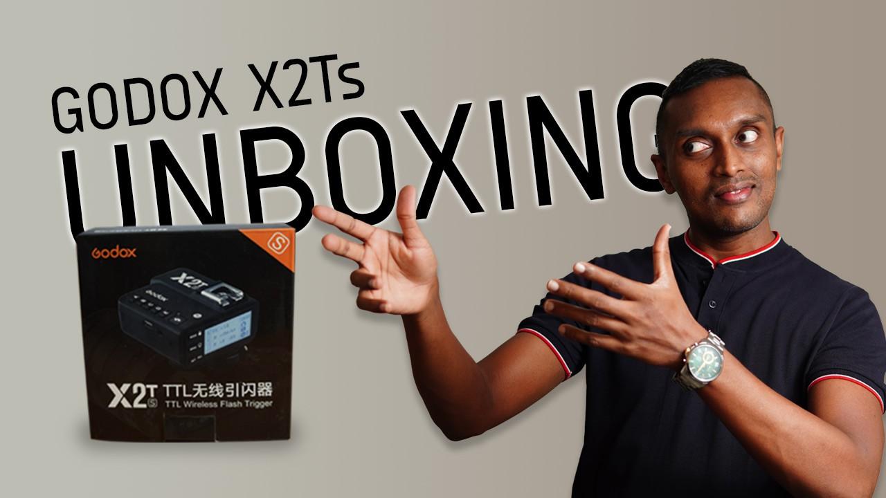 Godox-X2Ts-wireless-flash-trigger-unboxing