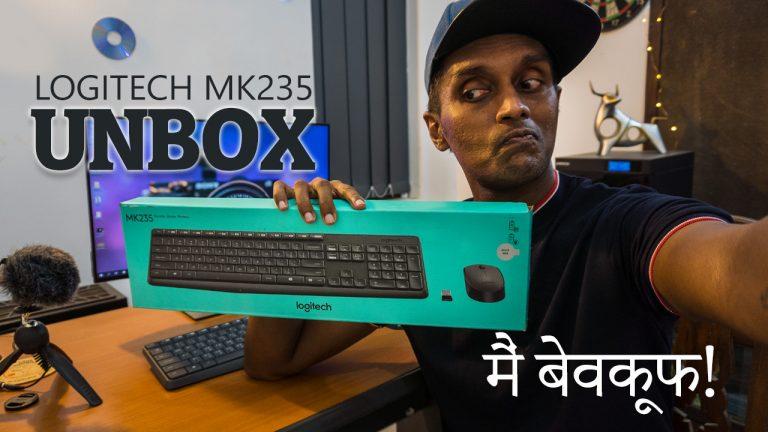 Logitech MK235 Wireless Keyboard Mouse Combo Pack Unboxing