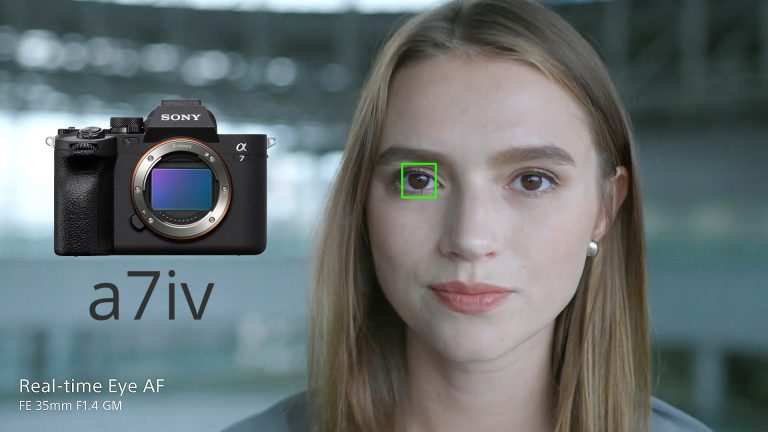 Sony New A7iv Ture Hybrid Camera